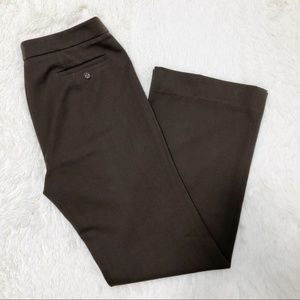 Weekend Max Mara brown classic stretch trousers 2